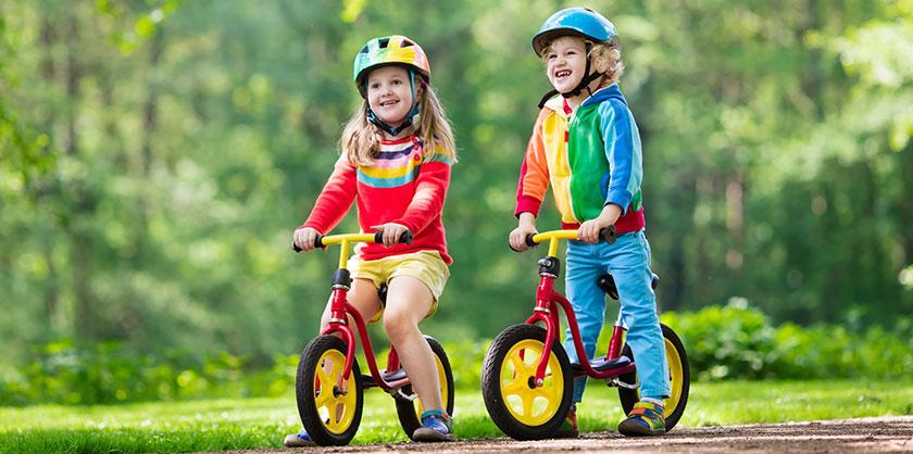 Vilka komponenter bör barncyklar ha?