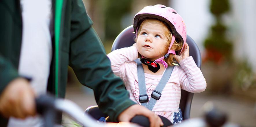 Cykelsits för små barn
